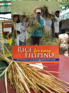 """Rice for every Filipino"" magazine"