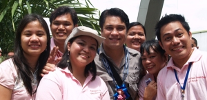 pretty in pink (with senator migz zubiri)
