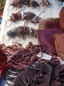 leathery fashion